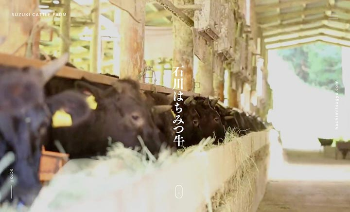 ISHIKAWA HONEY BEEF website