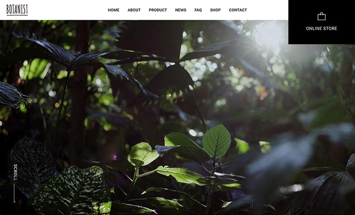 BOTANIST website