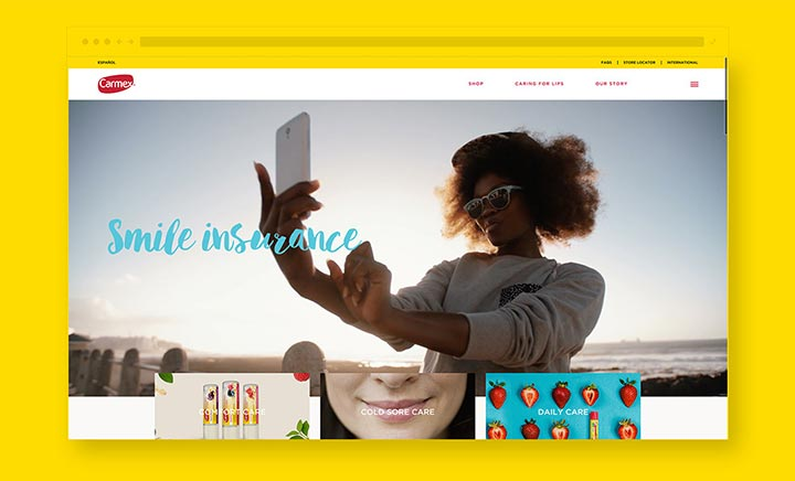 Carmex website
