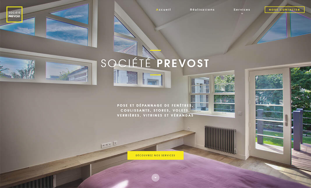 Societe Prevost website