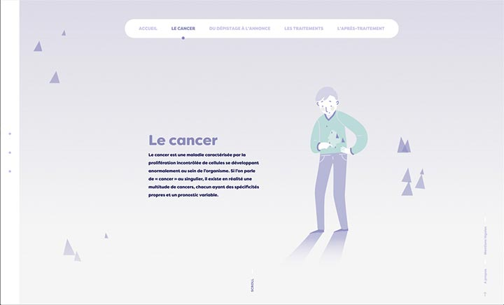 A propos du Cancer website