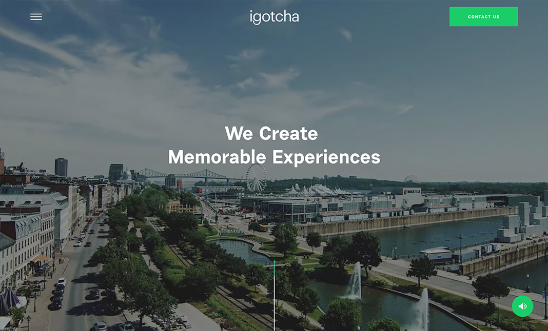 Igotcha Media  website