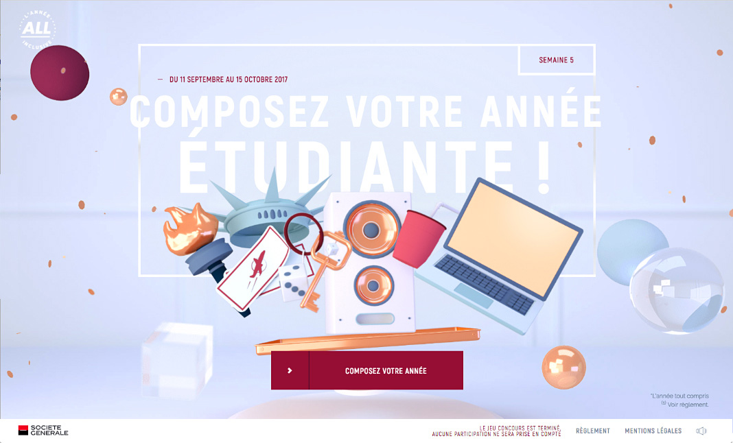 L'Année All Inclusive  website