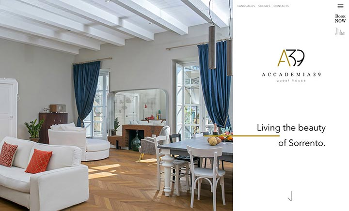 Accademia39 website