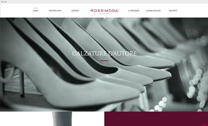 Rossimoda - Venezia 1947 website