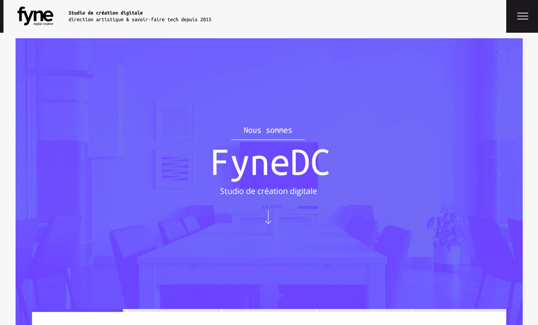 FyneDC website