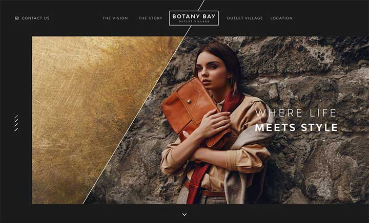 Botany Bay Outlet Village website