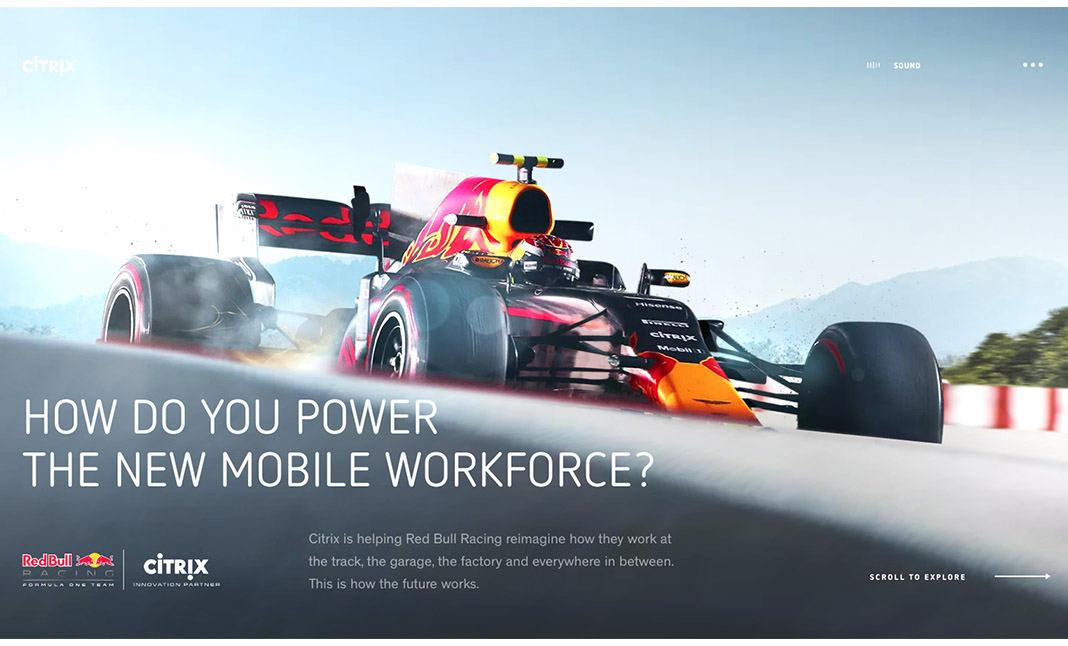The New Mobile Workforce website