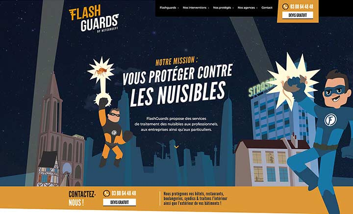 Flashguards website