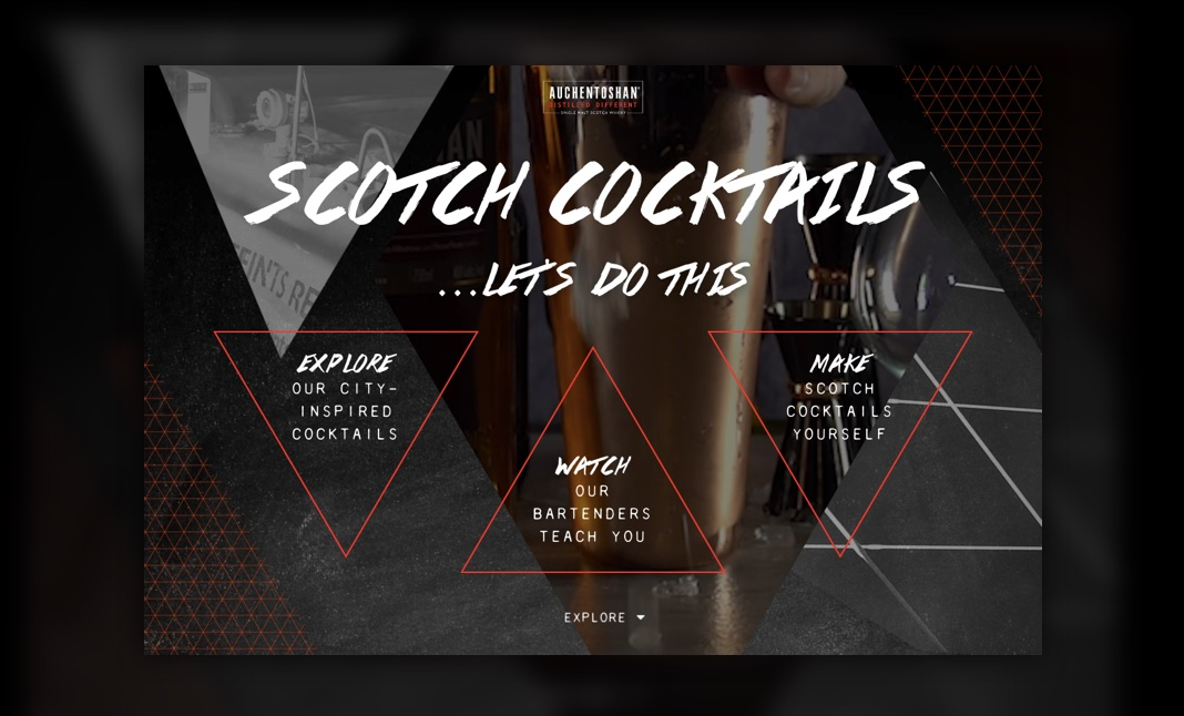 Scotch Cocktails website