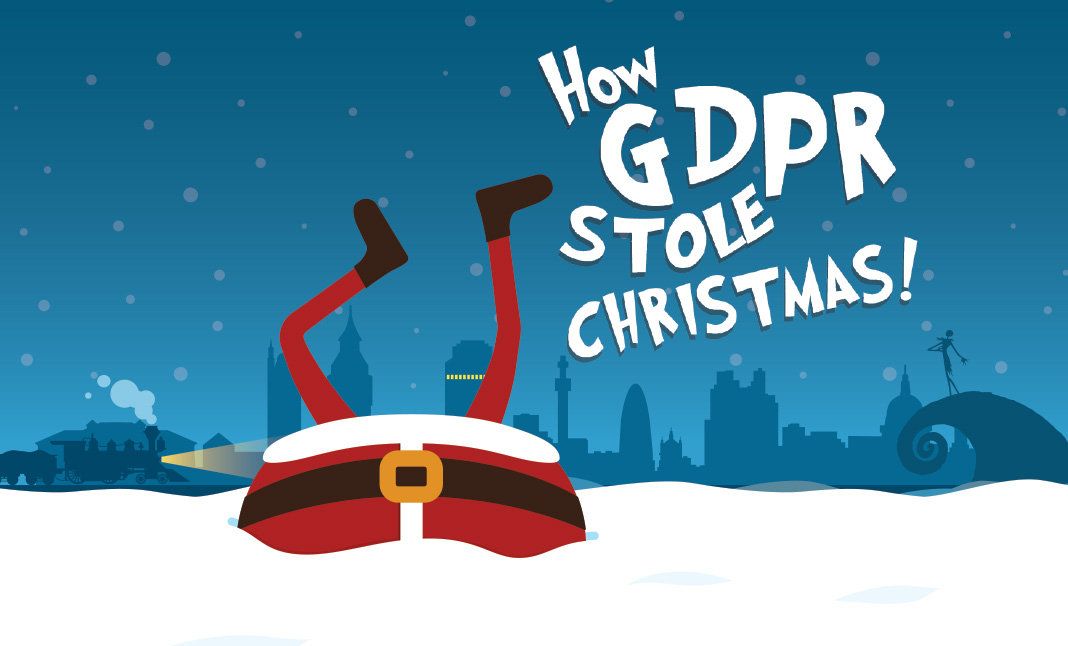 How GDPR Stole Christmas website