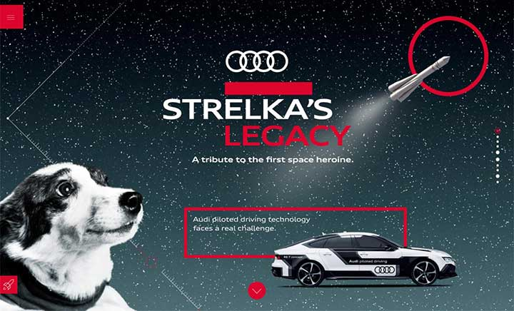 Strelka's Legacy website