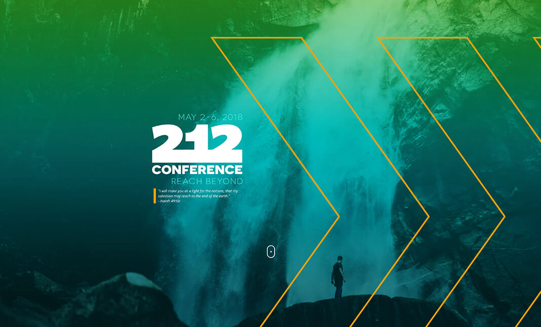 212 Leadership Conference 2018 website