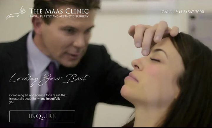 The Maas Clinic website