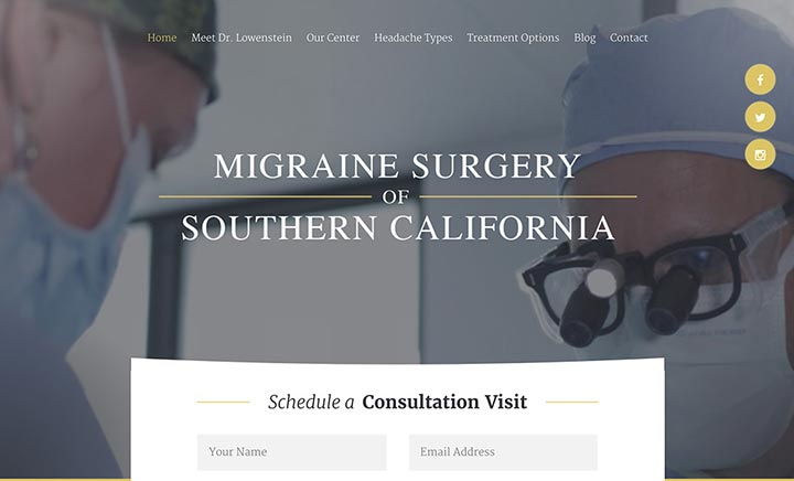 Migraine Surgery of Southern California