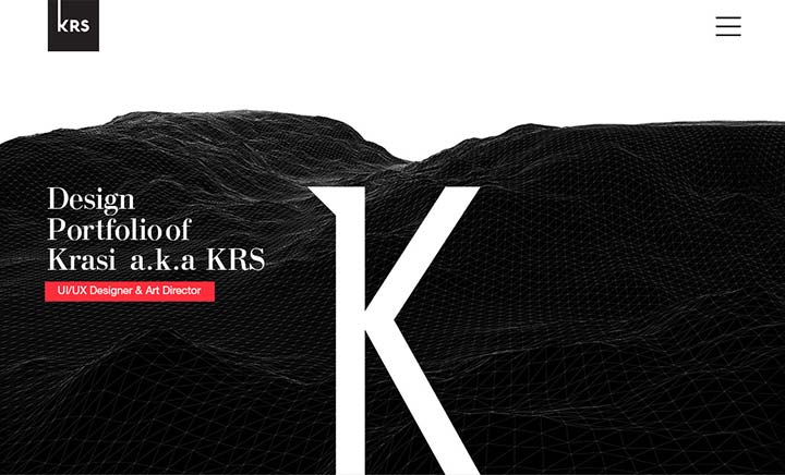 Kstoimenov Creative Portfolio website
