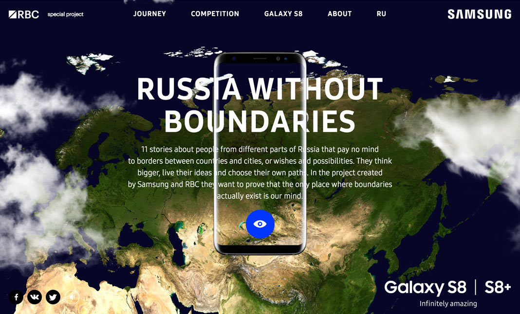 Russia Without Boundaries website