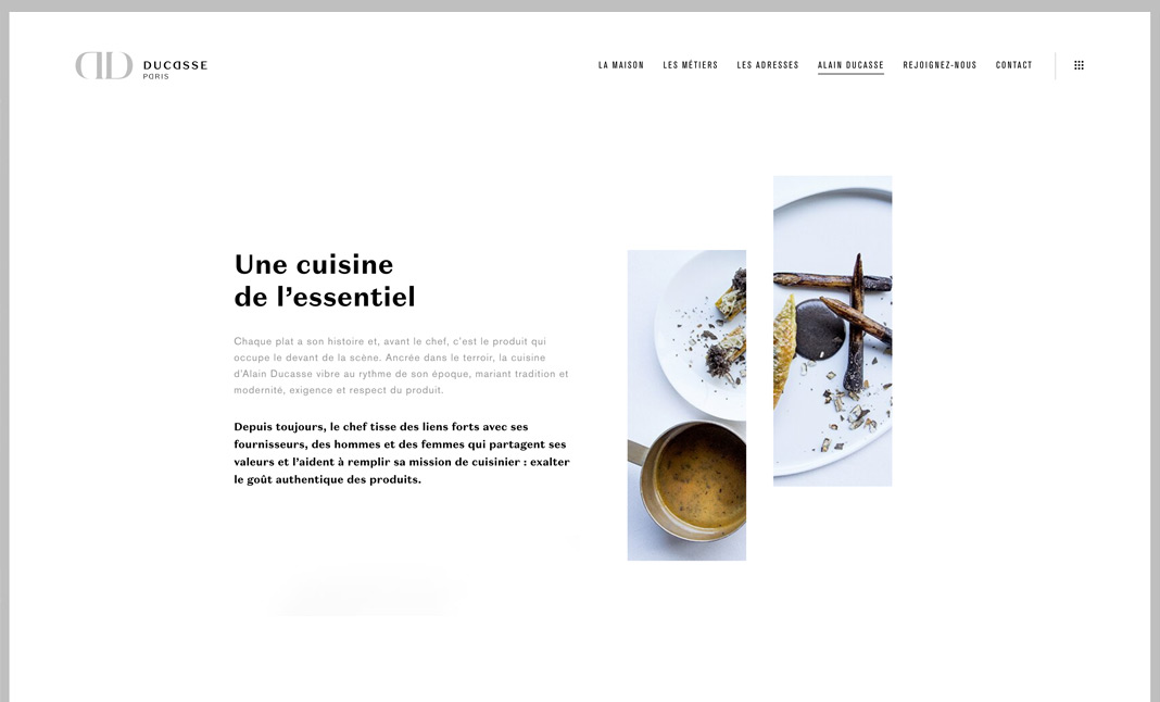 DUCASSE Paris screenshot 2