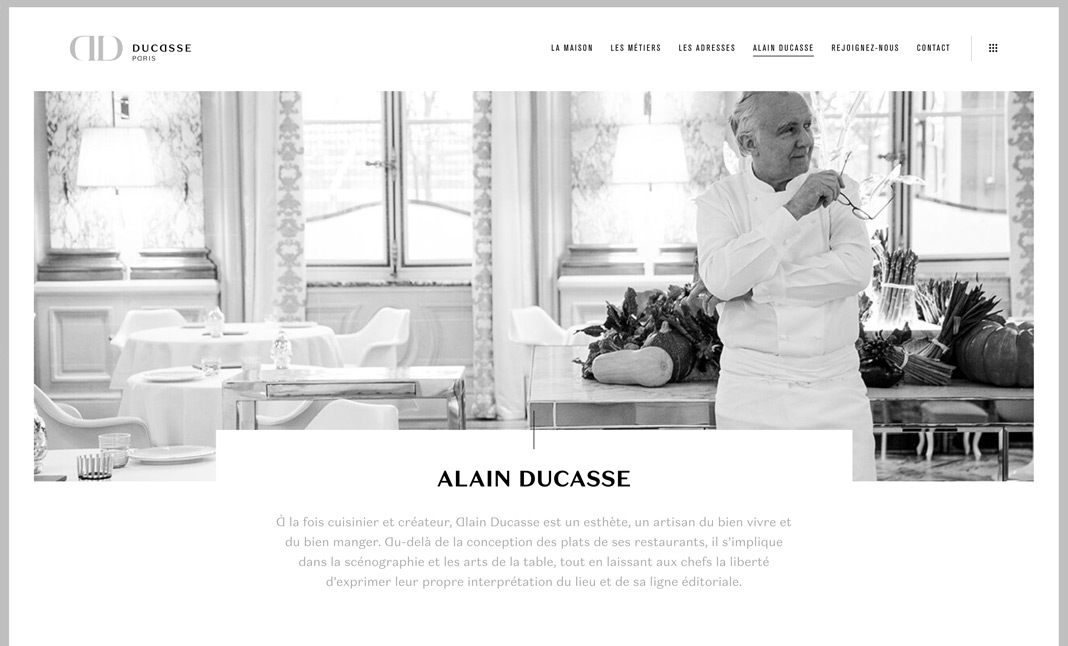 DUCASSE Paris screenshot 3