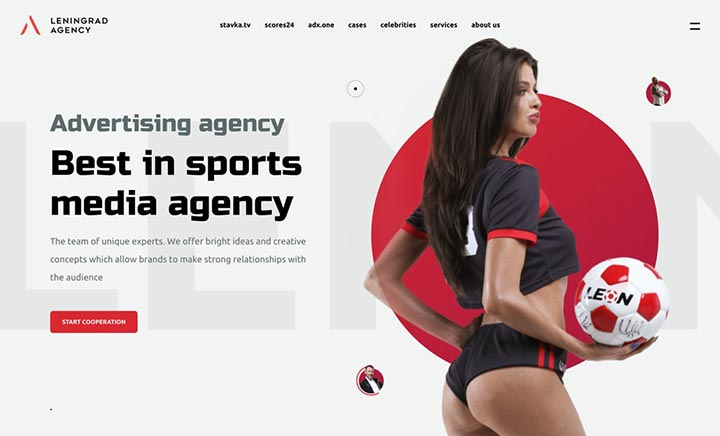Leningrad Agency website