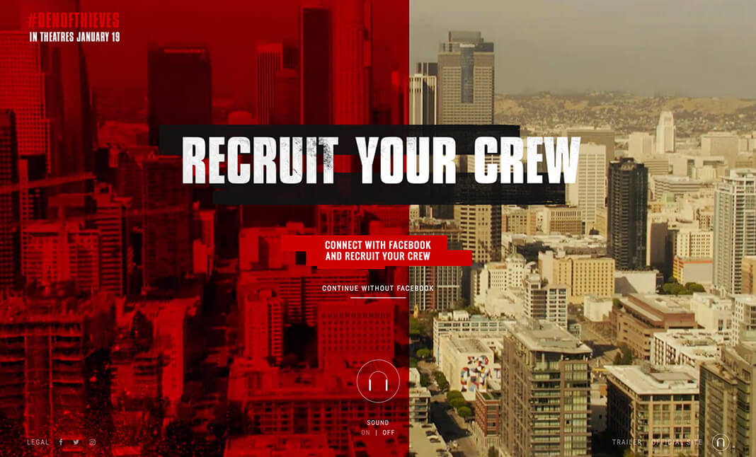 Recruit Your Crew website