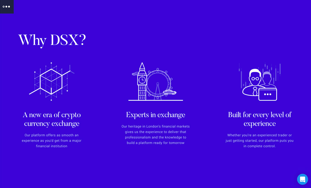DSX Cryptocurrency Exchange screenshot 2