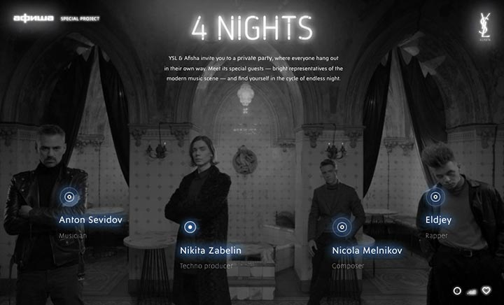 4 NIGHTS website