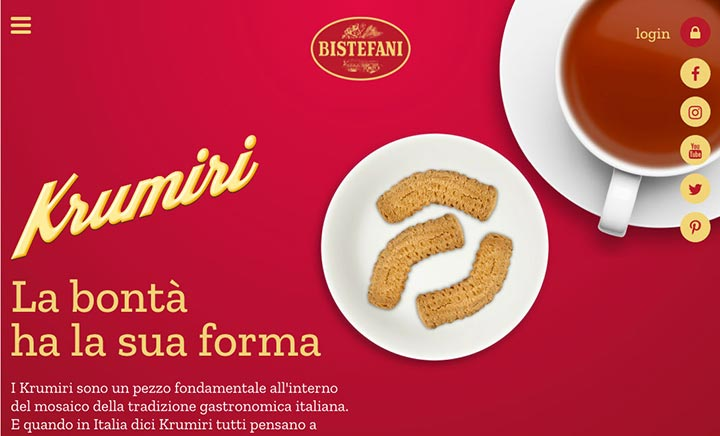 Bistefani, the Italian Cookie website