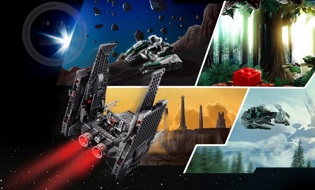 LEGO® Master your force website