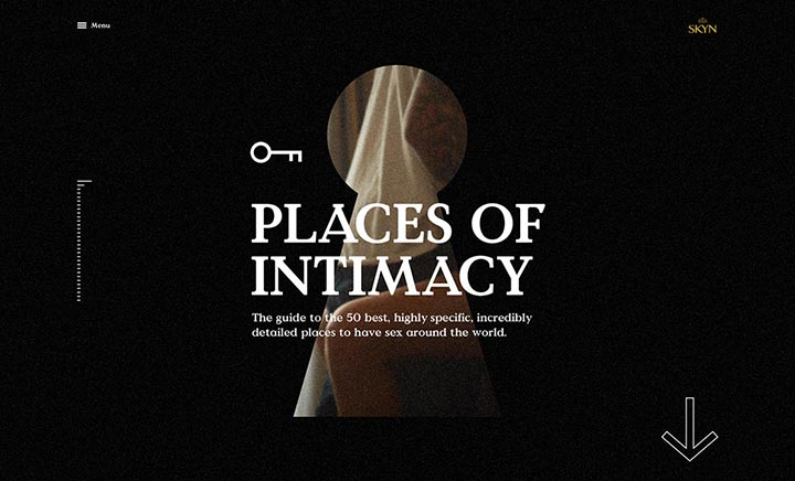 Places of intimacy
