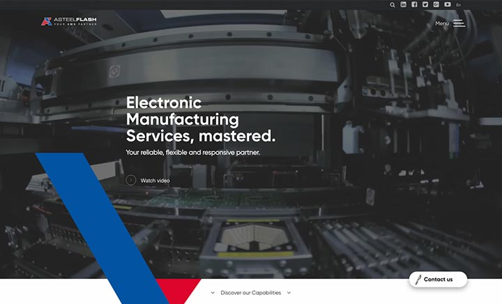Asteelflash website
