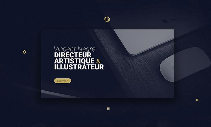 Vincent NEGRE - Portfolio website