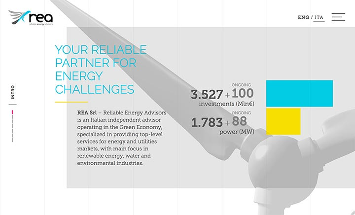 REA - Reliable Energy Advisors website
