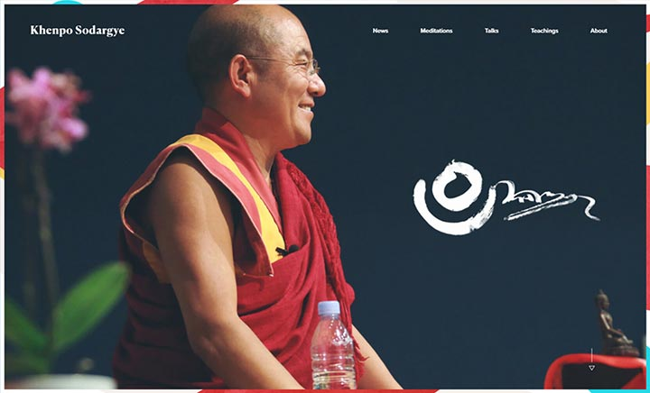 Khenpo Sodargye website