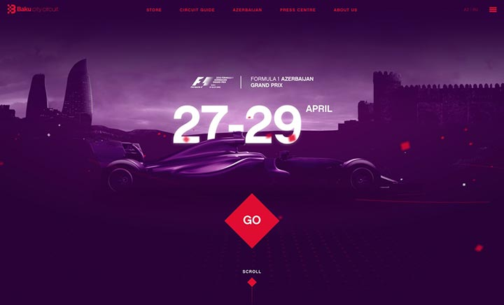 Baku City Circuit website