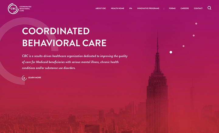 Coordinated Behavioral Care website