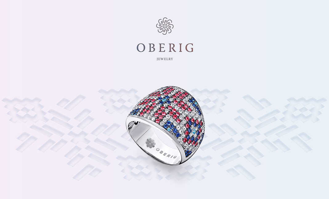 Oberig Jewelry website