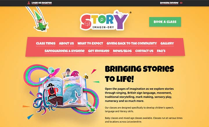 Story Imagin-ory website