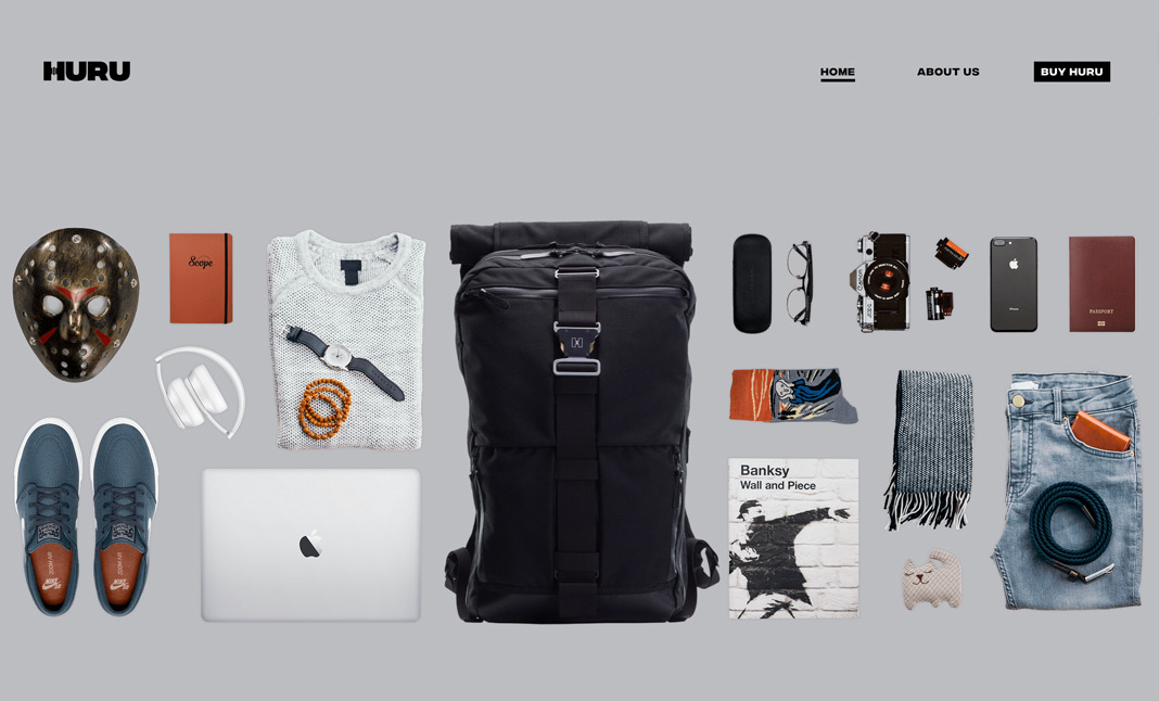 Huru Backpack screenshot 2