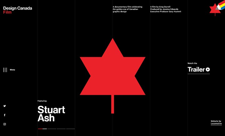 Design Canada website
