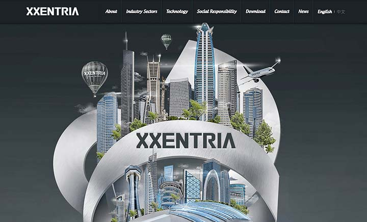 Xxentria Tech website