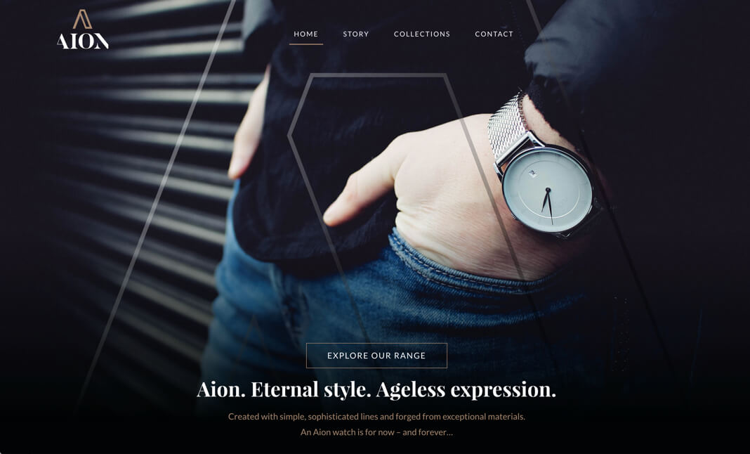 Aion Watch Co website
