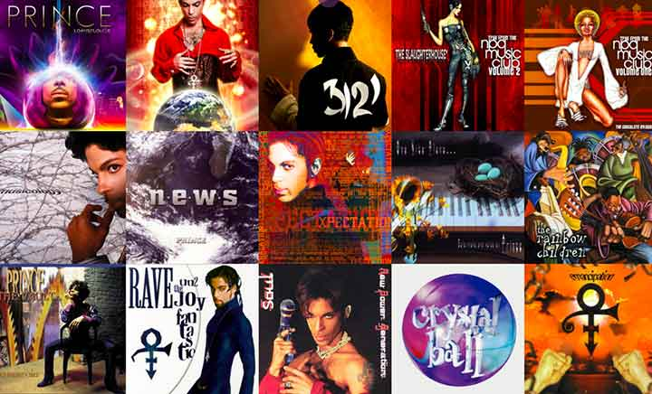 Prince Discography website