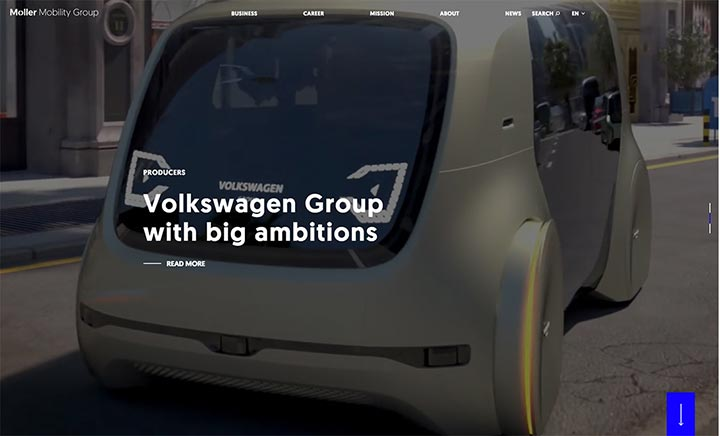 Møller Mobility Group website