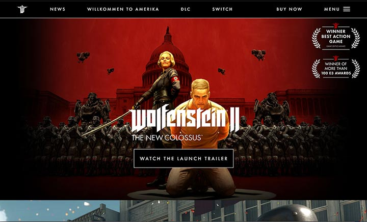 Wolfenstein II website