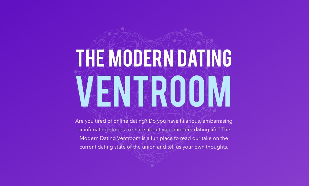 The Modern Dating Ventroom website