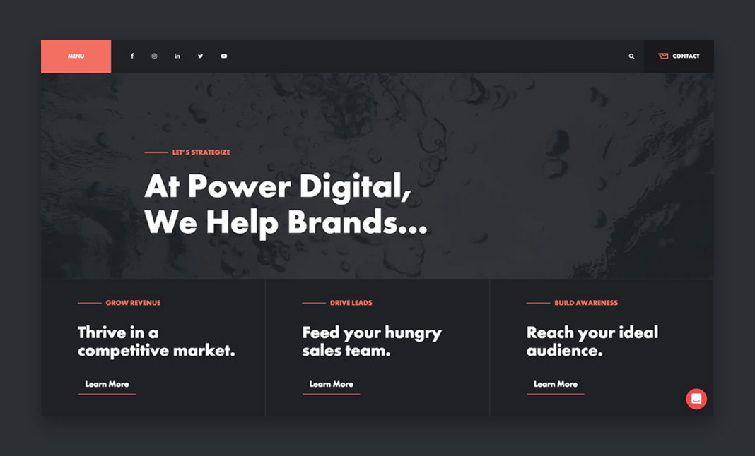 Power Digital Marketing website