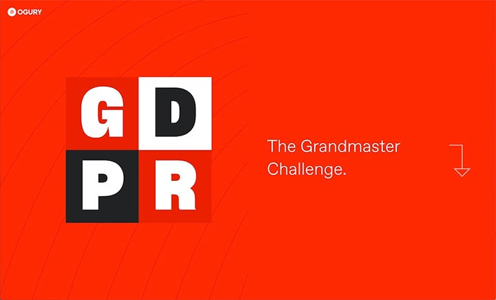 The Grandmaster Challenge Ogury website