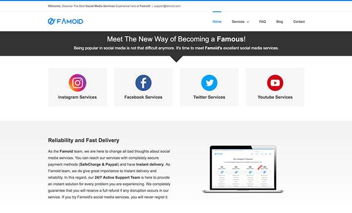 Famoid - Social Media Services