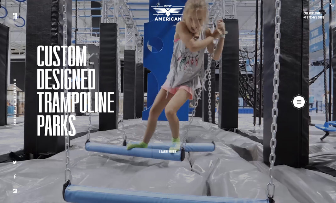 Trampoline Park website